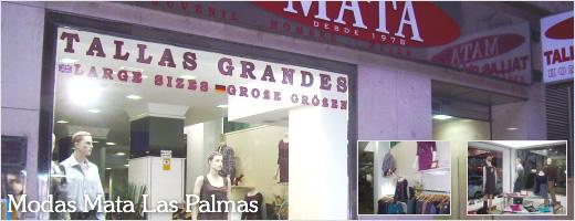Modas Mata Tallas Grandes en Las Palmas