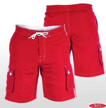 Bañador hombre rojo 17163