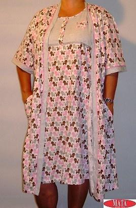 Bata mujer VARIOS COLORES tallas grandes 11040