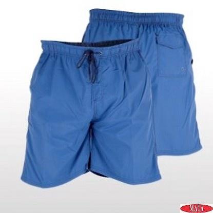 Bermuda hombre azul 15250