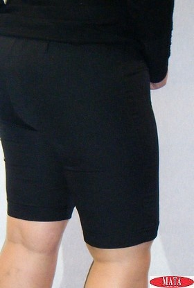 Bermuda mujer negro 06358