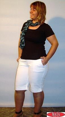 Bermuda Mujer Tallas Grandes Varios Colores 04840 Ropa Mujer Tallas Grandes Pantalones Piratas Y Pantalones Cortos Ropa Mujer Tallas Grandes Piratas Ropa Mujer Tallas Grandes Ofertas Ropa De Mujer Modas