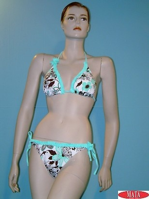 Bikini mujer verde 08488