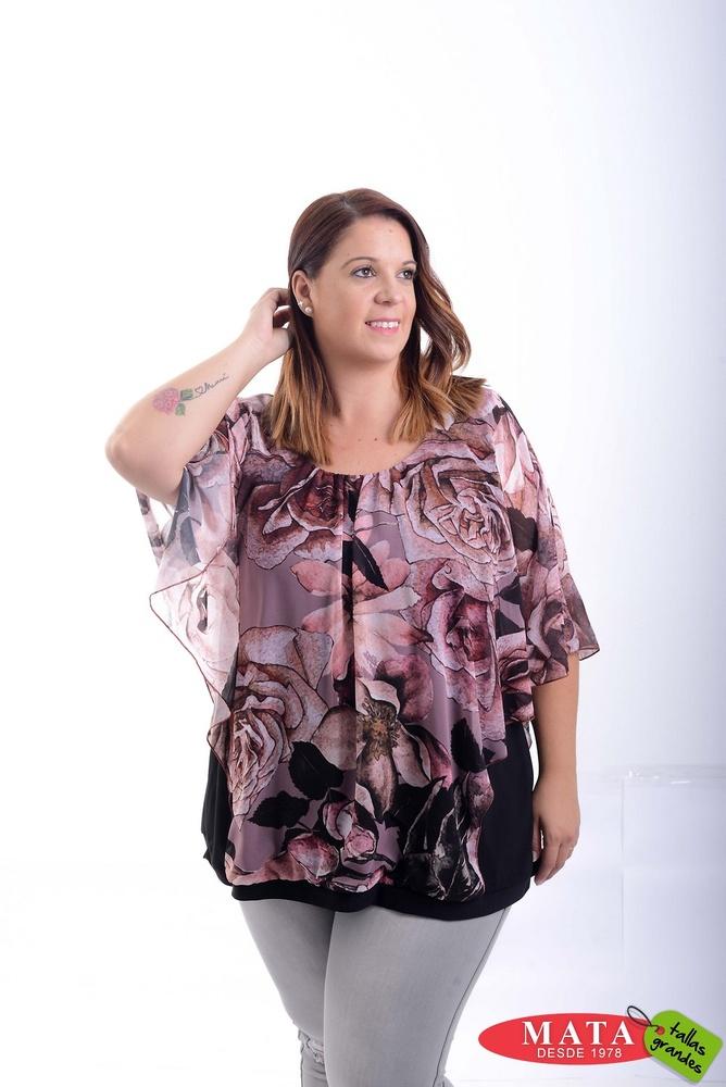 Blusa mujer 20779 ropa mujer tallas grandes blusas blusas casuales ropa mujer tallas - Ropa interior tallas especiales ...