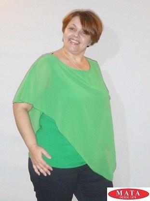Blusa mujer tallas grandes 18487 ropa mujer tallas grandes blusas blusas cl sicas ropa - Ropa interior tallas especiales ...