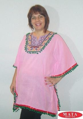 Blusa rosa 18984