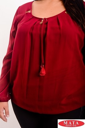 Blusa mujer tallas grandes 19144