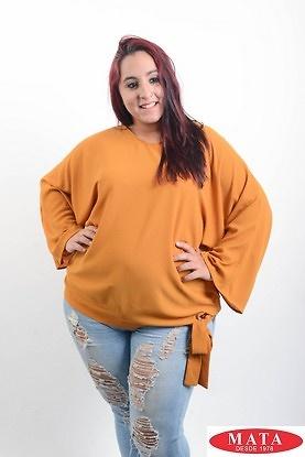 Blusa mujer tallas grandes 19546 ropa mujer tallas grandes blusas blusas casuales ropa - Ropa interior tallas especiales ...