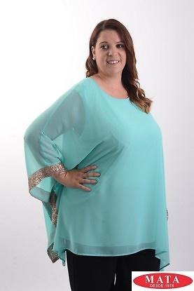 Blusa mujer tallas grandes 19849