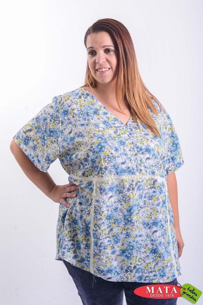 Blusa mujer tallas grandes 20389