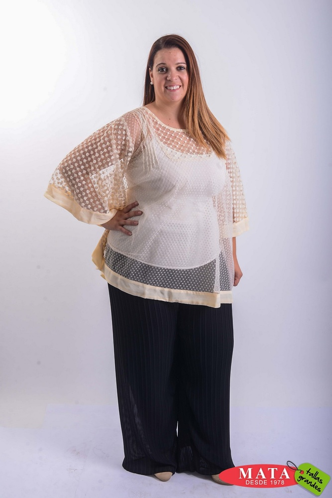 Blusa mujer tallas grandes 20413