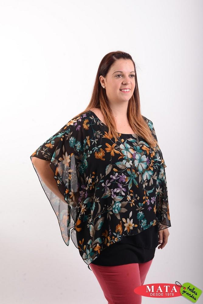 Blusa mujer tallas grandes 20529