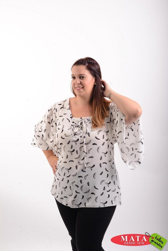 Blusa mujer tallas grandes 20530