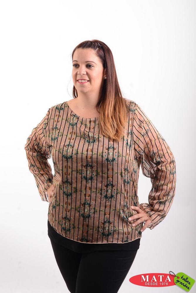 Blusa mujer tallas grandes 20535