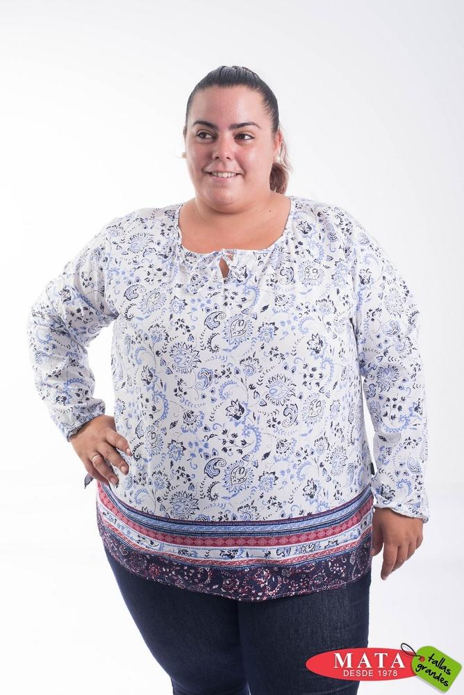 Blusa mujer tallas grandes 20689