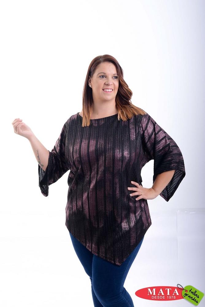 Blusa mujer tallas grandes 20787