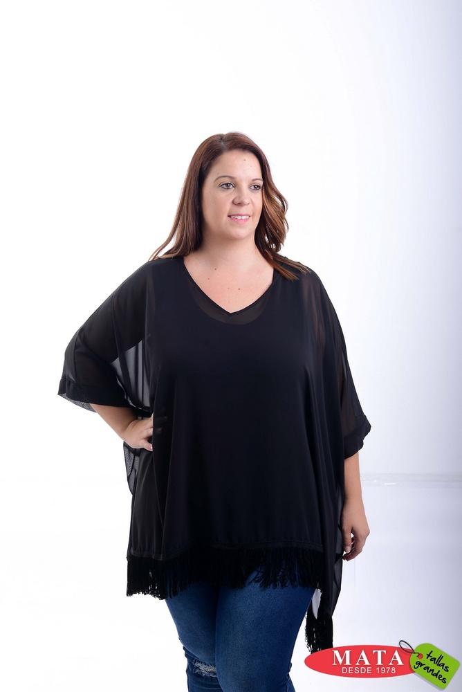 Blusa mujer tallas grandes 20828