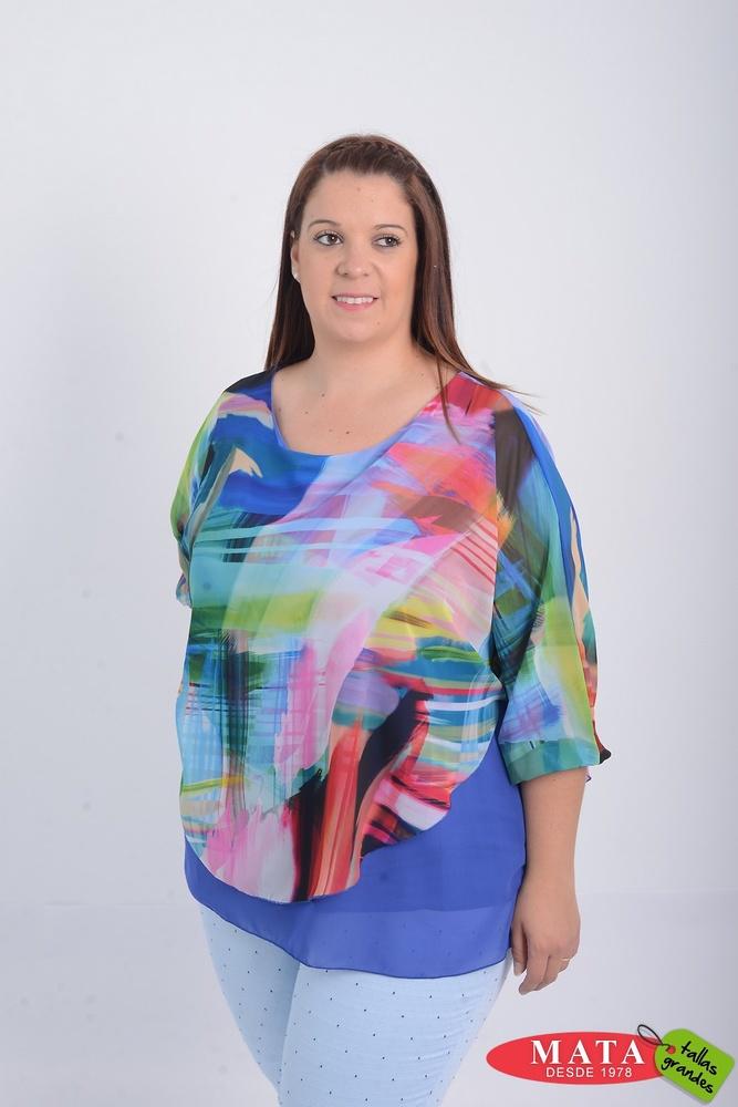 Blusa mujer tallas grandes 21148