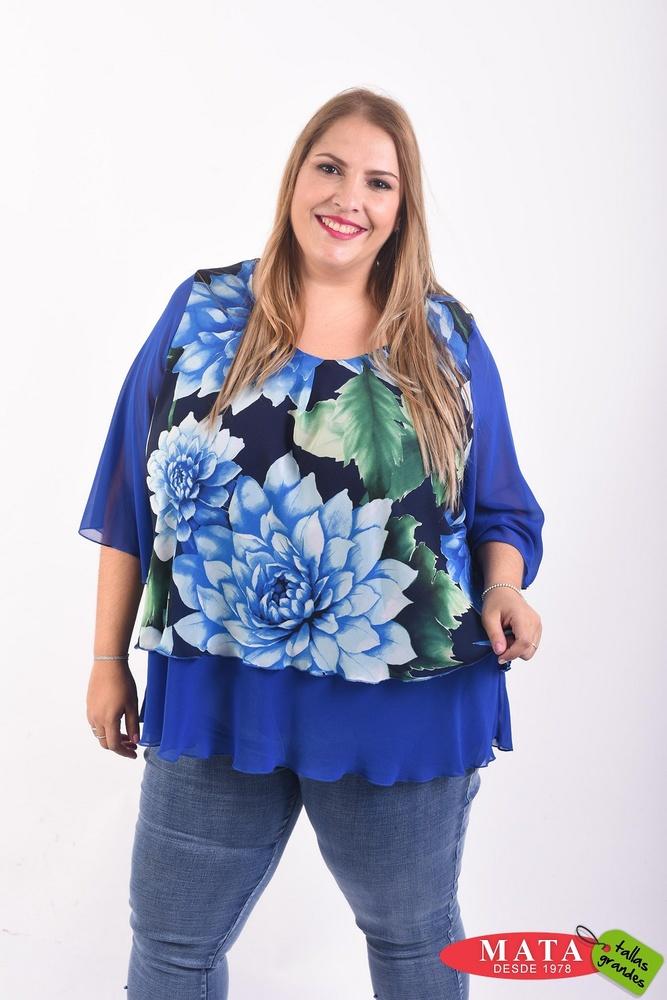 Blusa mujer tallas grandes 21627