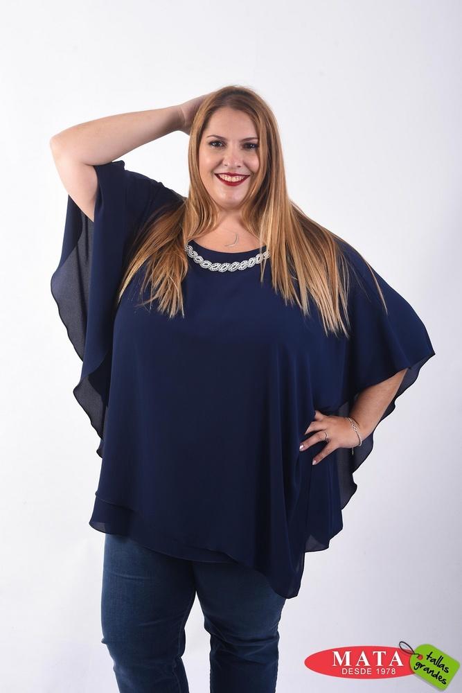 Blusa mujer tallas grandes 22330
