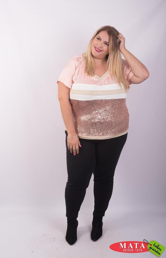 Blusa mujer tallas grandes 23610