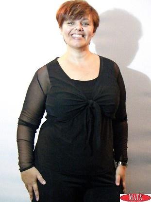 Bolero mujer negro 16163