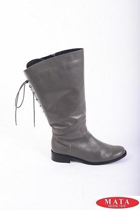 Botas mujer tallas grandes gris 16431