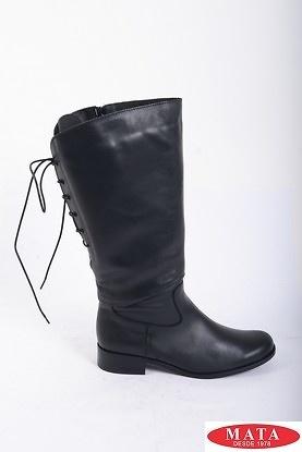 Botas mujer tallas grandes negro 16431