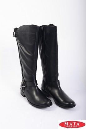 Botas mujer tallas grandes negro 19392