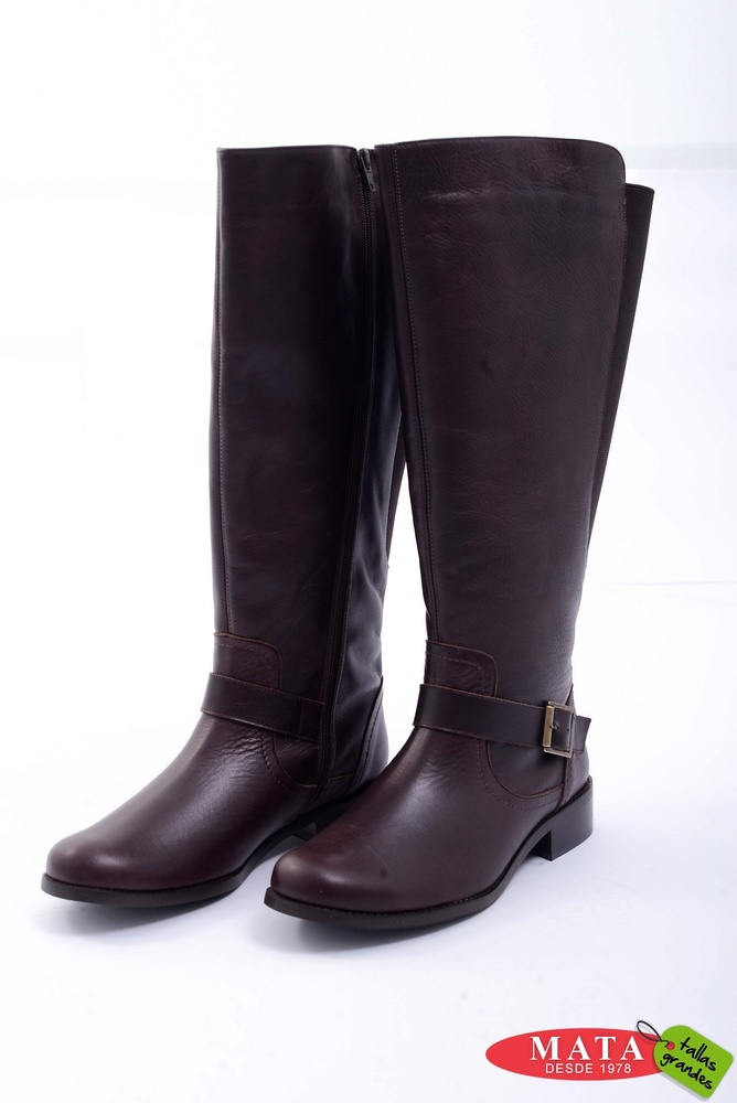 Botas mujer tallas grandes 20835 Zapatos tallas grandes, Botas tallas grandes y anchos especiales Modas Mata Tallas Grandes