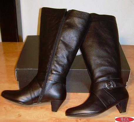 Botas mujer negro tallas grandes 11280