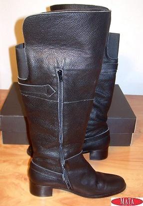 Botas negro mujer tallas grandes 11442