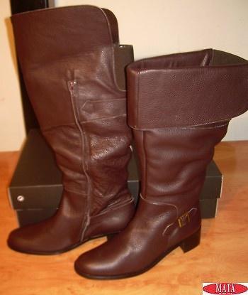 Botas mujer marrón tallas grandes 11442