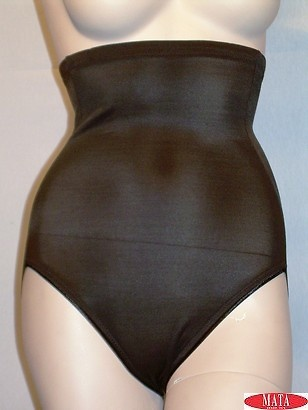 Braga faja tallas grandes mujer negro 09088