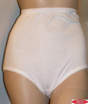 Braga blanca mujer tallas grandes 09369