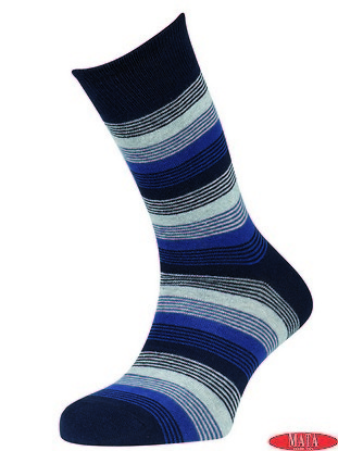 Calcetín hombre azul marino 16135
