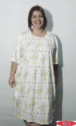 Camisón mujer verde 17385