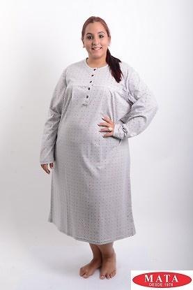 Camison mujer tallas grandes gris 19302