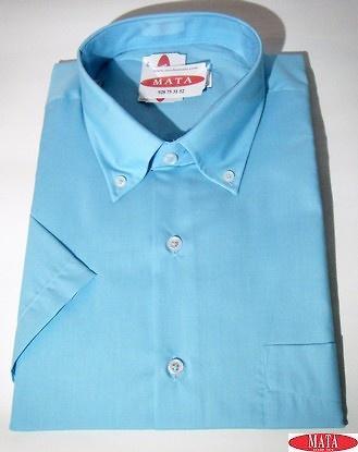 Camisa hombre turquesa 16789