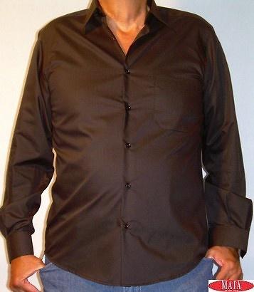 Camisa hombre negro 03737