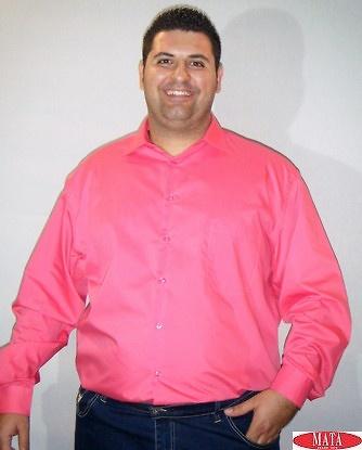 Camisa hombre fuxia 03737