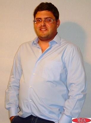Camisa tallas grandes hombre celeste 08972
