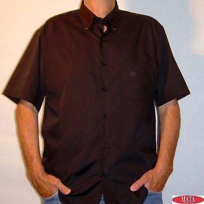 Camisa NEGRO hombre tallas grandes 10658