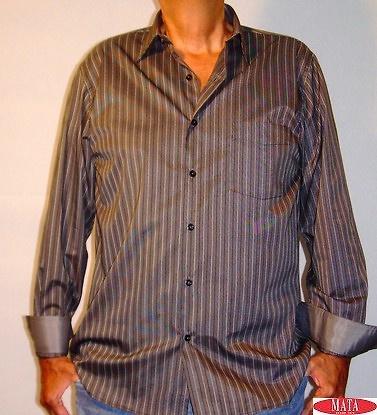 Camisa negro hombre tallas grandes 11460