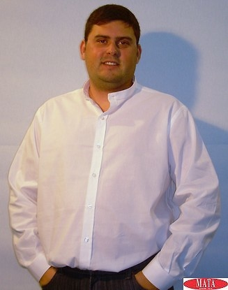 Camisa blanco hombre 12613