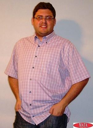 Camisa tallas grandes hombre varios colores 12617