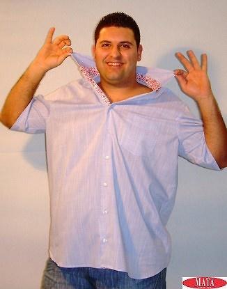 Camisa tallas grandes hombre varios colores 12618