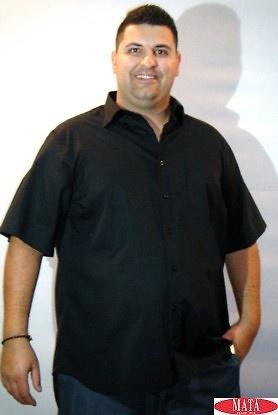 Camisa hombre negro 15410