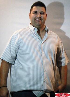Camisa hombre verde 15413