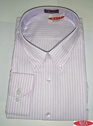 Camisa hombre malva 15672